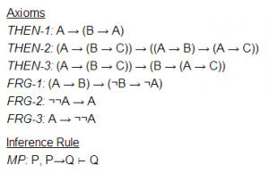 Frege's propositional calculus